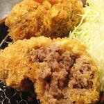 那須 おかしげ - 料理写真:大田原牛メンチカツ