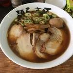 麺屋・高豚 - チャーシュー麺味玉乗せ