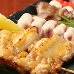 一番どり - 美味しい串焼き盛合せ。