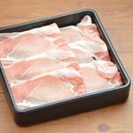 しゃぶしゃぶ かおり - 香り豚ロース
