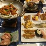 ホテル富士 食堂 - 料理写真:2016年8月 夕食バイキング