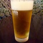 KITCHEN BAR 新目黒茶屋 - 生ビール