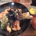 56273670 - 海老穴子天丼(2016年9月)