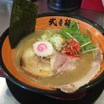 武者麺 SEA - 海老塩白湯ラーメン(750円)