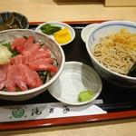 滝乃家 - 料理写真:マグロ丼セット 1,000円