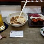 ふくろう - 料理写真:肉豆腐&寿司