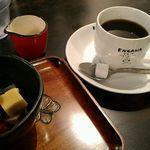 えんがわカフェ - ブレンドコ―ヒー