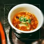 肉料理と大地の恵み ひなた - キノコの茶碗蒸し