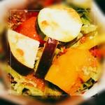 肉料理と大地の恵み ひなた - サラダ(カボチャ、ズッキーニ等)