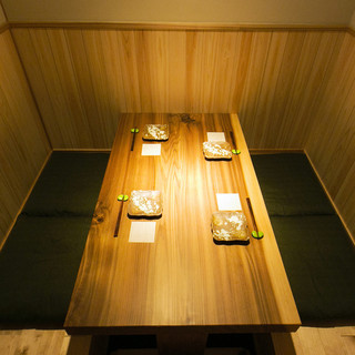 完全個室完備で接待・特別な会食に最適