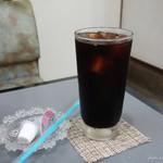 腹八分 めぐみ - 2016年7月 モーニングのコーヒー。量多いです~(^^)