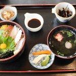 銀たちの郷 - 「銀たちの郷」 海鮮丼