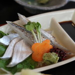 銀たちの郷 - 「銀たちの郷」 太刀魚定食