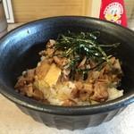 いっぱいいっぱい - 豚ごはん(350円)