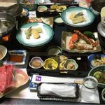 ホテル 花京 - 料理写真:夕食!!