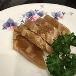 瑛翔楼 - 豚の耳の煮こごり