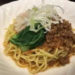 瑛翔楼 - 汁無し担々麺