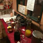 ワイン食堂タパタパ - フリードリンク種類豊富