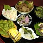 しゃぶきん 肉の金澤屋 - 季節の小鉢
