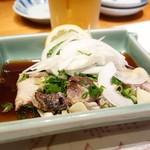ほざき - 2016年7月 活魚清水さばたたき【950円】