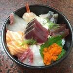 56287004 - 海鮮丼です。