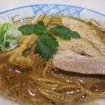 56287555 - 濃厚つけ麺(麺固め)アップ