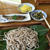 谷口がっこそば - 料理写真:板そば720円+にしんの甘煮360円