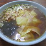 生駒軒 - 料理写真:ワンタンメン