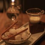 楽の蔵 レストランChez tomo. - ドリンク写真:2016年9月 お砂糖とミルク これすら品があるんです