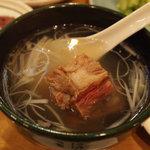 一心 - 牛テールスープ