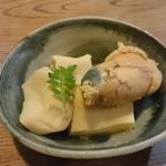 風の盆 - 鯛の子と高野豆腐の煮物