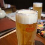 琉球焼肉なかま - オリオンビール