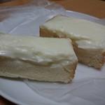 ベーカリーロミオ - クリームボックス(110円) 断面