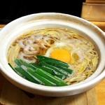 鍋焼きラーメン千秋 - 鍋焼きラーメン(並)