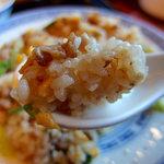 56298512 - 半五目チャーハンと半五目タン麺セット(978円)