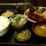 アパッチ - 料理写真:2016年7月 夜のおまかせ定食(ポークチャップ)【850円くらい】