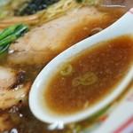 らぁめん とん平 - スープ