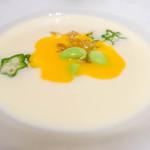 ラ・ファソン 古賀 - とうもろこしスープ