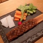 56304590 - 「蕎麦焼き味噌 (650円)」。 これこそ蕎麦屋さんの最強の酒の肴