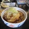 きらく蕎麦小川 - 料理写真:かき揚げ、温玉そば