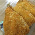 ふるさと弁当 - 料理写真:アジフライ1枚 ¥110