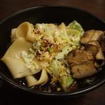 56310772 - 腰帯麺(ビャンビャン麺)