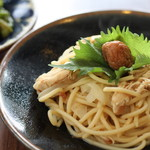 ネマルカフェ - 自家製梅のさっぱりスパゲティ