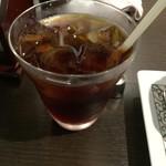 元町珈琲 高松茜の離れ - セットで付けたアイスコーヒー 美味し✌