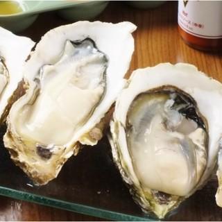 日本牡蠣センターから仕入れる良質な牡蠣