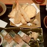 天ぷらと旬の肴 田丸 -