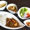 湯治宿 et Café ゆのか - 料理写真:ツインカレー(\850)