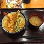 天丼てんや - 天丼500円+Web割-50円