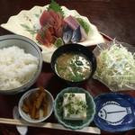 56319089 - お刺身定食(上)1000円