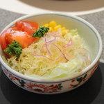 佐賀牛レストラン季楽 - サラダ